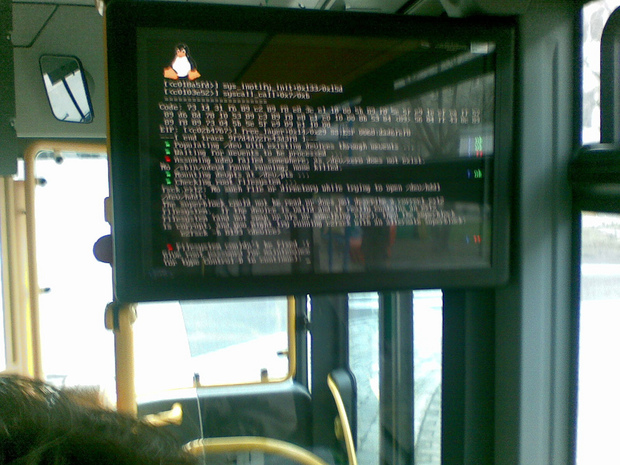 Filesystem could'nt be find dans un autre bus
