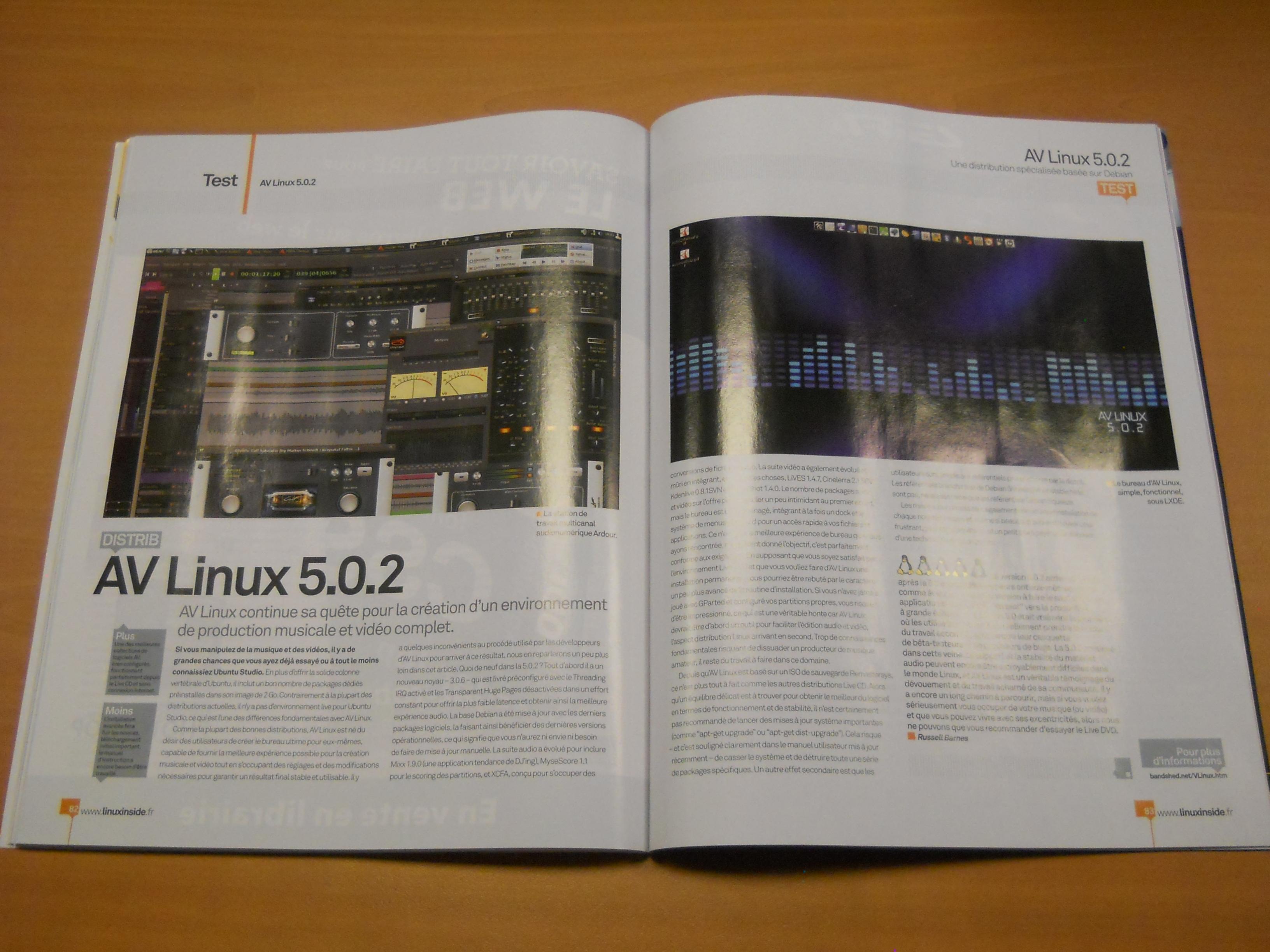 gnu linux magazine france paru