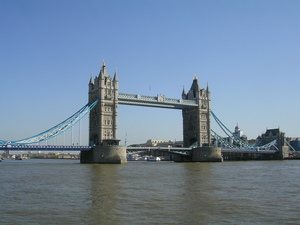 Voyage à Londres - Le Tower Bridge