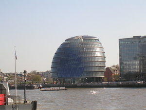 Voyage à Londres - Le London City Hall