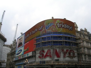 Voyage à Londres - Piccadilly Circus