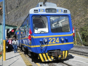 Le train pour Aguas Calientes