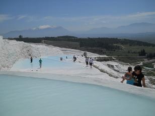 bassin d'eau chaude turquie