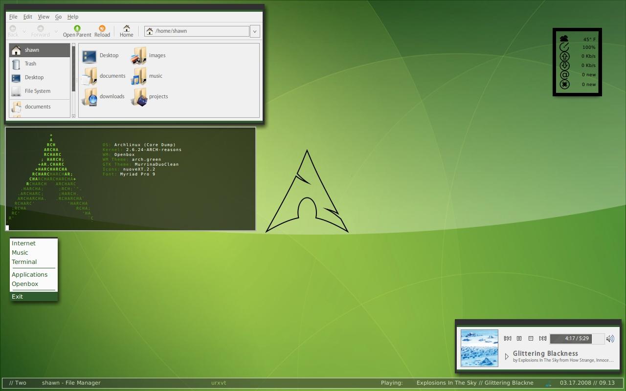 25 Best Linux Desktop Customization Screenshots - Tux-planet