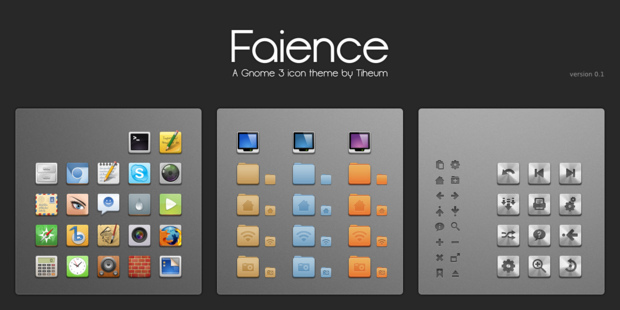 Gnome Shell Faience