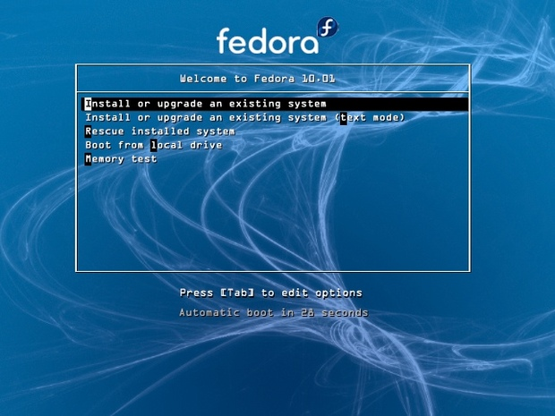 Fedora 10 artwork