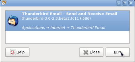 sage installateur de paquet pour Fedora