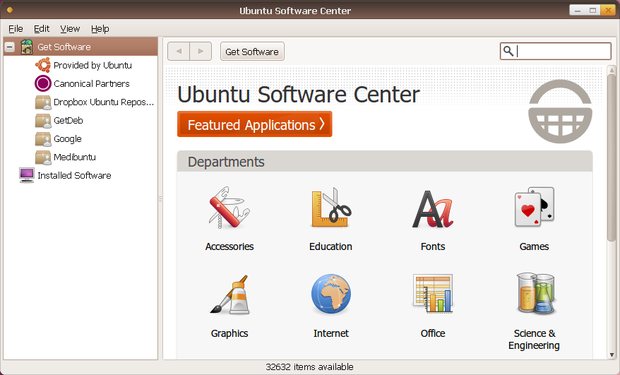 Ubuntu 10.04 - Ubuntu Software Center