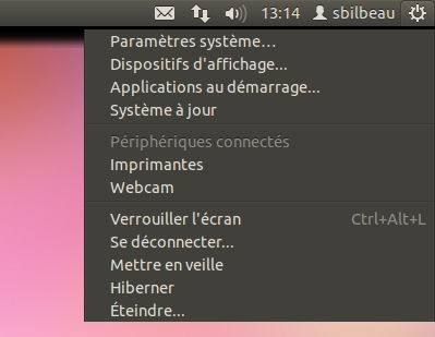 Ubuntu 11.10 - Un nouveau menu de session