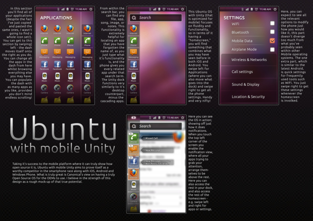 Ubuntu with mobile Unity par Ginjaninja405