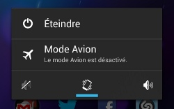 Mode vibreur du Nexus 4
