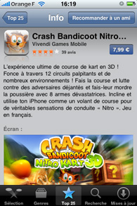 Iphone - Installation d'applications