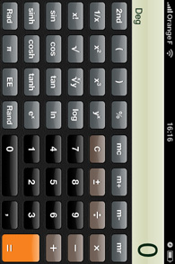 Iphone - Application calculette