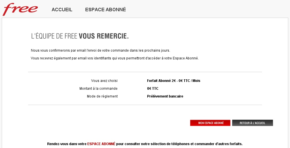 comment arreter l abonnement free mobile