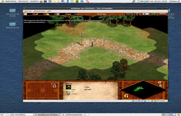 VirtualBox - Age of Empire 2
