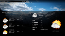 XBMC Media Center - Météo
