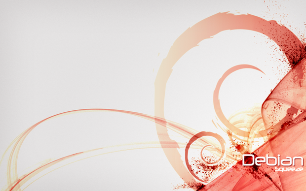 Debian Squeeze Wallpaper