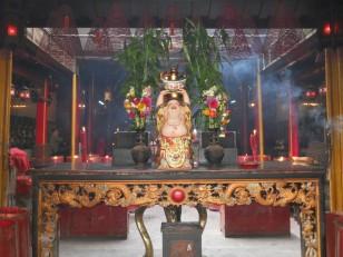 Jakarta : L'intérieur du temple bouddhique Jin de Yuan