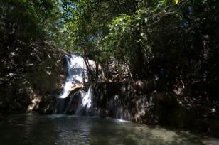 La cascade au cœur de l'île