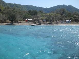 L'île de Satonda, connue pour son lac salé
