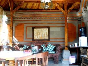 Ubud : Notre maisonnette en forme de petit temple