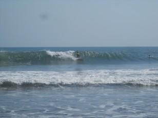 Une compétition de surf