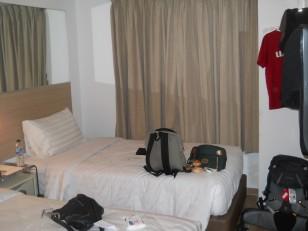 Jakarta : Notre chambre à l'hôtel Tune