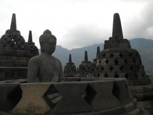Borobudur : Un des plus grands monuments bouddhiques du monde