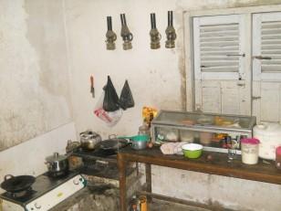 Une cuisine, pourvu qu'ils ne nous invitent pas à manger !