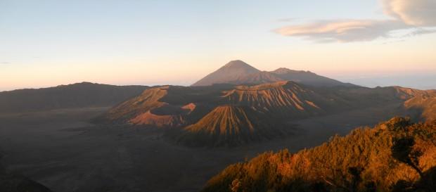 Le Mont Bromo : Lever de soleil