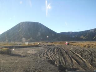 Le Mont Bromo : Le volcan juste à côté