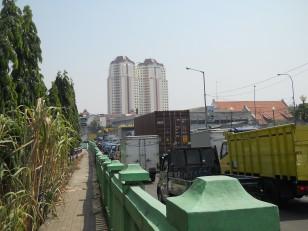 Jakarta : Les embouteillages
