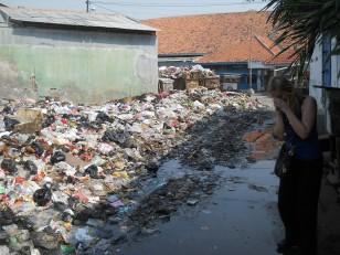 Jakarta : Les décharges à ciel ouvert