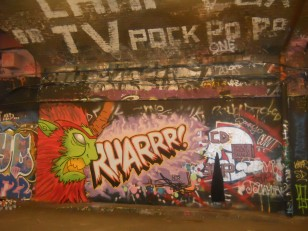 Le Banksy Tunnel