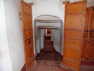 Ouarzazate : L'intérieur de la kasbah de Taourirt
