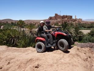 Ouarzazate : C'est parti pour 2h de quad !