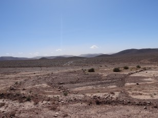 Oasis de Fint : Pour y parvenir, il faut traverser un paysage lunaire