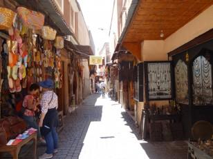 Marrakech : Les souks