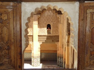 Marrakech : La médersa Ben-Youssef