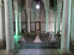 Marrakech : Les tombeaux saadiens