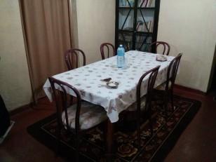 Haputale : La salle à manger du Hyacinthe Cottage. Tout le monde peut s'y restaurer !