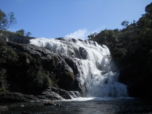 Horton Plains : La Baker's Fall