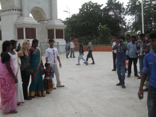 Chennai : Comme en Indonésie, les indiens adorent se faire photographier avec les occidentaux