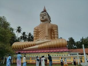 Dikwella : Le Big Bouddha