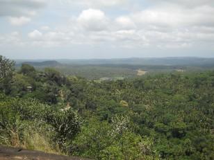 Mulkirigala : La vue depuis le sommet