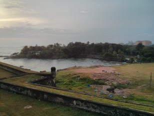 Fort Galle : Les remparts