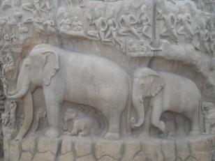 Mahabalipuram : L'Arjuna's Penance