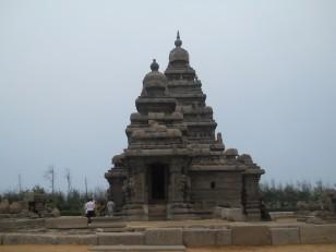 Mahabalipuram : Le Shore Temple (Temple du Rivage)