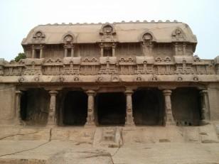 Mahabalipuram : Ce 3e ratha est dédié à Vishnou