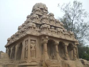 Mahabalipuram : Ce 4e ratha est en l'honneur de Brahma le créateur
